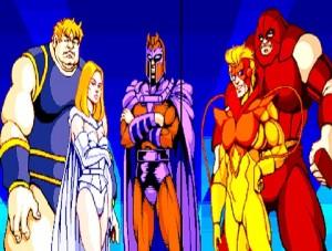 X-Men Arcade Videojuego Magneto