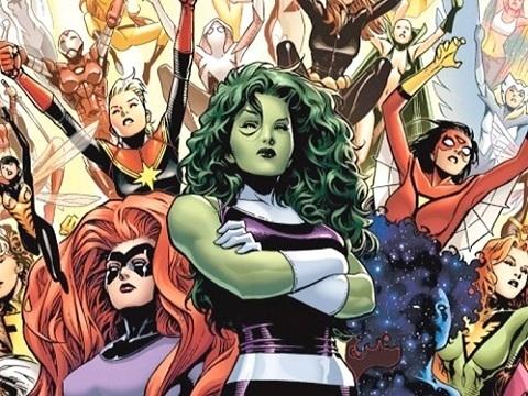 Marvel Día de la Mujer