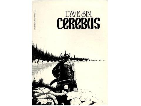 Cerebus Dave Sim cover