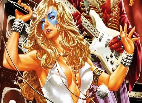 X-Men Dazzler Singing
