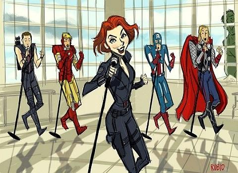 Avengers Sing