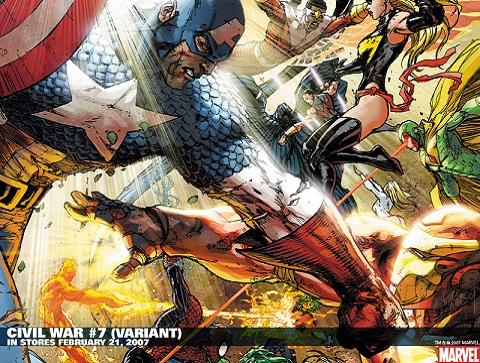 Michael Turner Civil War 7 Variant