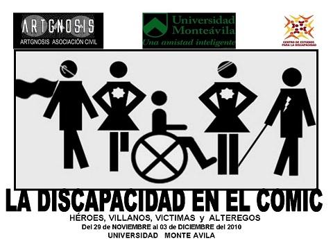 Artgnosis Población Mutante Cómics y Discapacidad 2010 Universidad Monteávila 01