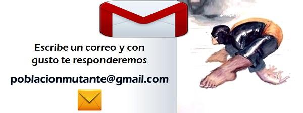 Contacto Población Mutante 5 Correo