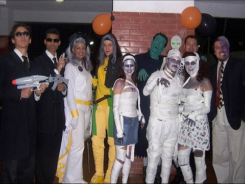 Halloween Party 2006 07