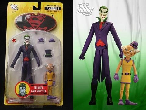 Joker Figuras Superman Batman Mxyzpltk