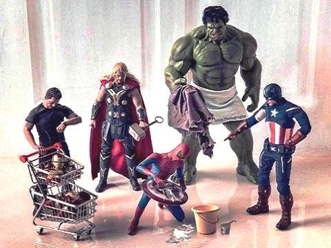 Limpiar figuras de acción action figures