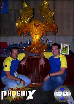 Convención Avalancha 2008 Población Mutante Maqueta