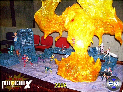 Convención Avalancha 2008 Población Mutante diorama