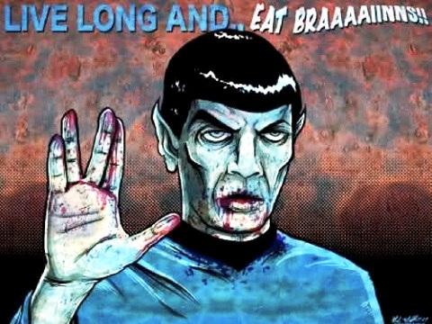 Star Trek Night of the living trekkies Spock
