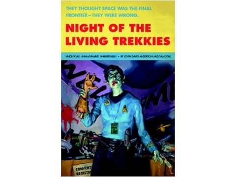 Star Trek Night of the living trekkies cover