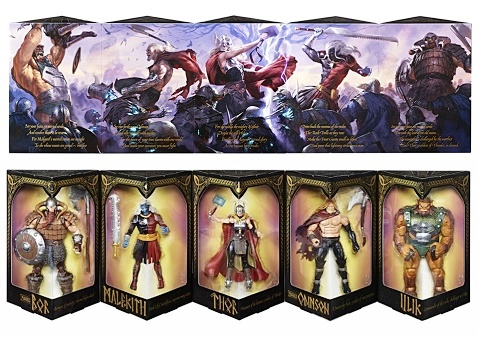 SDCC-2017-Marvel-Legends-Thor-set
