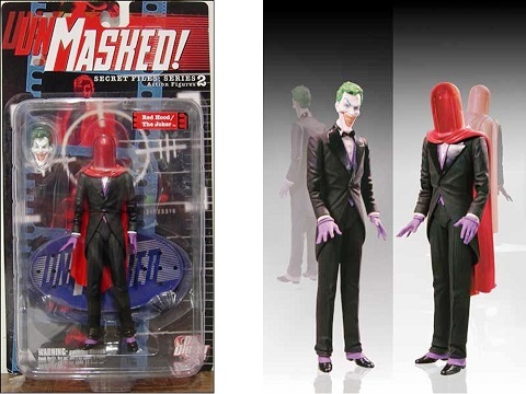 Joker Figuras Unmasked Red Hood