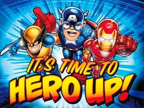 SHS Super Hero Squad Videojuego Time to Hero Up