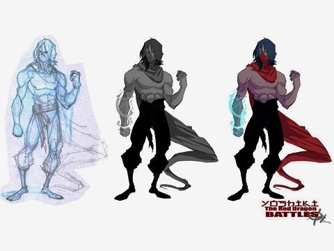 Blood Red Dragon sketch